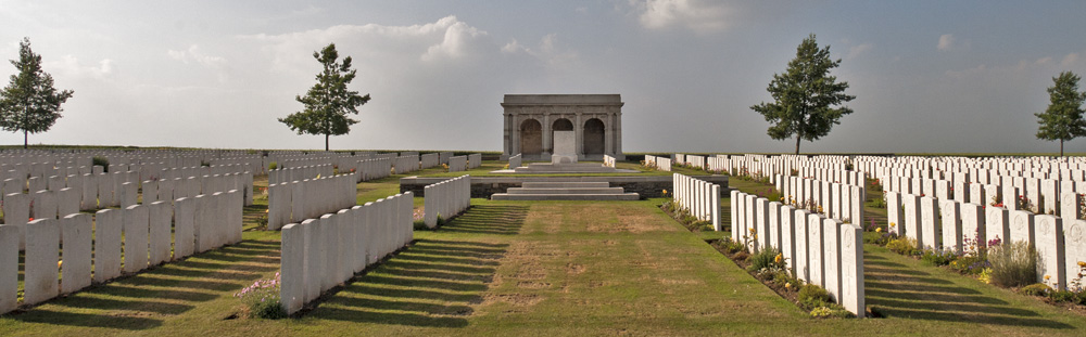 Adanac Cemetery near Courcelette