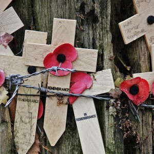 Crosses of Remembrance, Sanctuary Wood Trench Museum