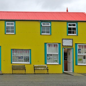 Colourful gift shop, Stanley