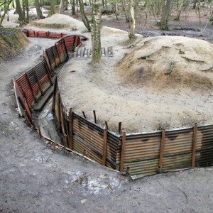 A Trench in Sanctuary Wood