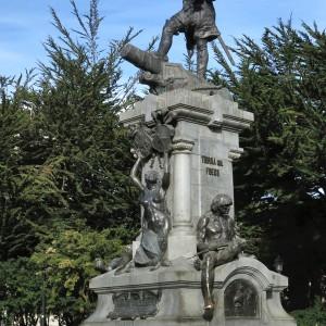 Memorial to Ferdinand Magellan, Plaza, Punta Arenas
