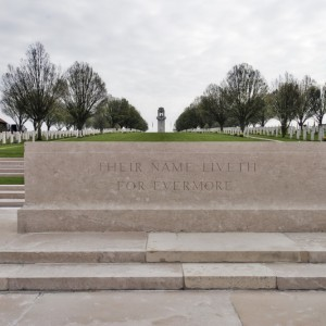 Stone of Remembrance, Villers-Bretonneux Military Cemetery