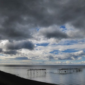 Strait of Magellan from the Coastal Road, Punta Arenas